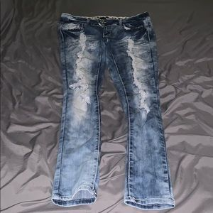 Rue21 ripped jeans Size 3/4R